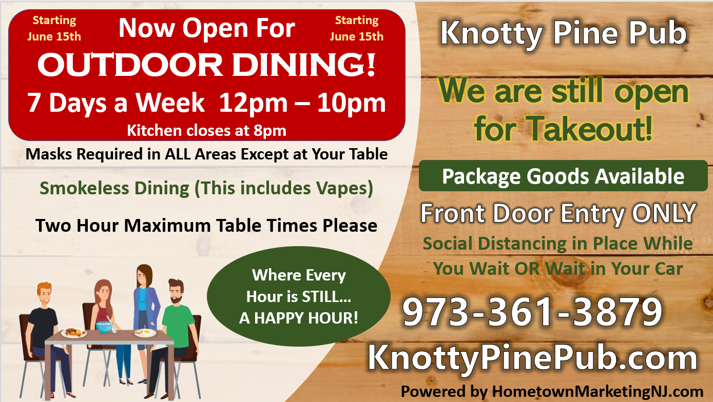 knotty pine outdoor dining